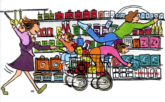grocery shopping the overflow woman grocery shopping clipart grocery shopping clipart
