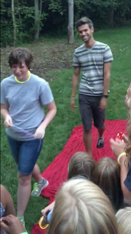 college kids prayer party